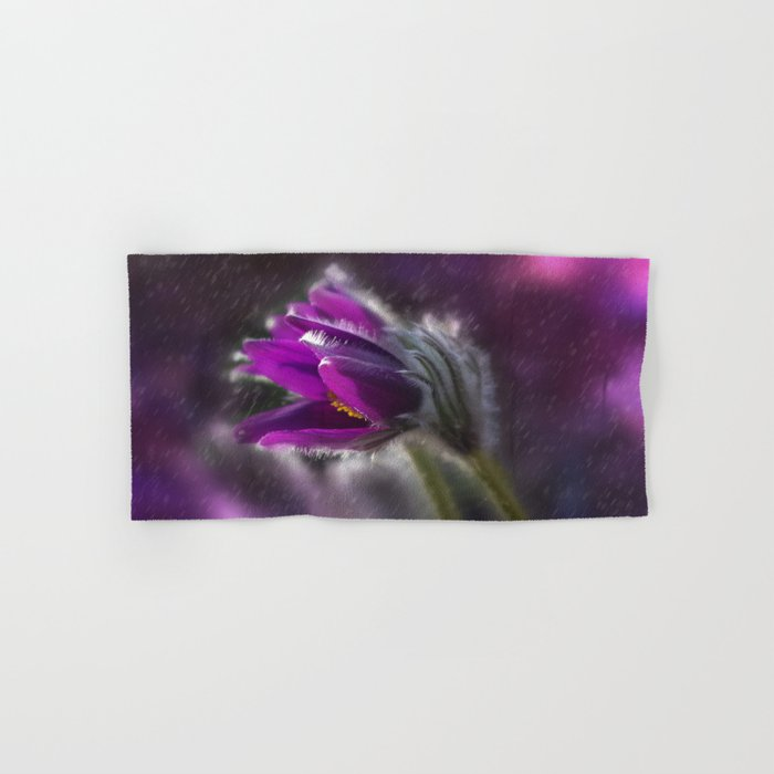 Purple rain Hand & Bath Towel