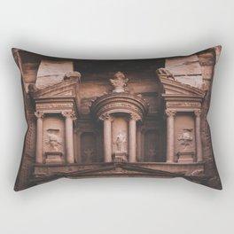 Al-Khazneh, Petra Rectangular Pillow