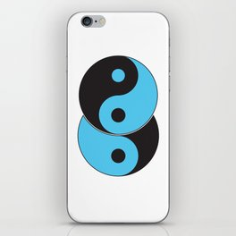 Reflections of Yin and Yang iPhone Skin
