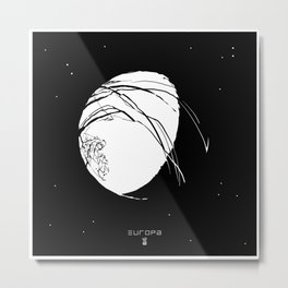 EUROPA Metal Print