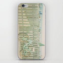 Beach Cruiser Bicycle iPhone Skin