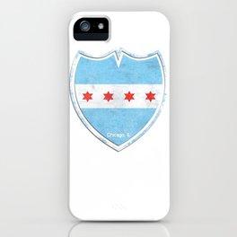 Chicago, IL - Shield iPhone Case