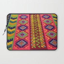 Colorful Guatemalan Alfombra Laptop Sleeve