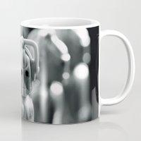 robots Mugs featuring Robots by Emma Harckham