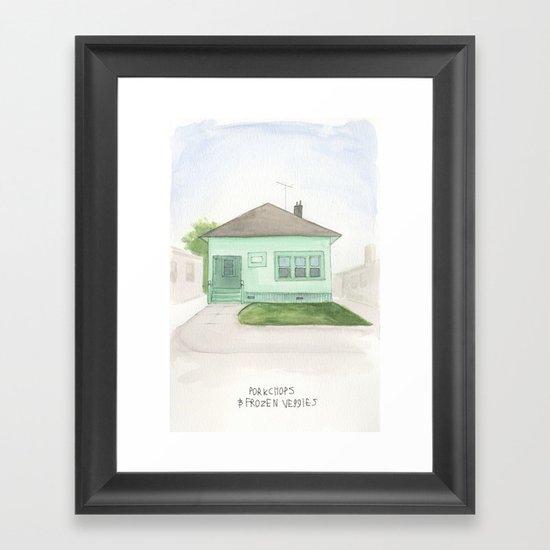 006.  Framed Art Print