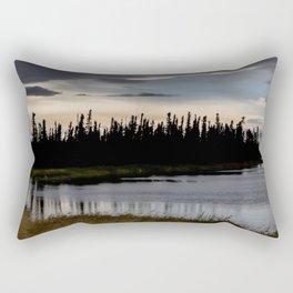 Nancy Lake  Rectangular Pillow