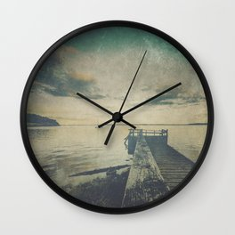 Dark Square Vol. 4 Wall Clock