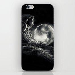 Moon Play iPhone Skin