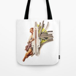 Sparklette | Collage Tote Bag