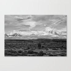 Tetons, Wyoming Canvas Print
