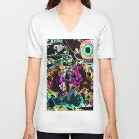 buzz lightyear V-neck T-shirts featuring Buzz by Lior Blum
