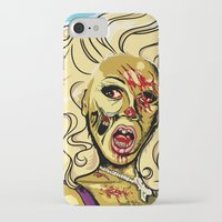 rupaul iPhone & iPod Cases featuring Zombie RuPaul by ComfortComfort