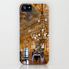 Newport Mansions, Rhode Island - Marble House - Grand Salon iPhone Case