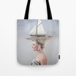Sailing - White Tote Bag