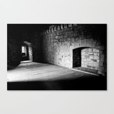 Cold Fireplace Canvas Print