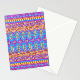 Pansexual Pride Intricate Abstract Pattern Stationery Cards