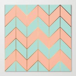 Marble Geometry 059 Canvas Print