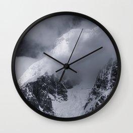 Antarctic Mountain Wall Clock