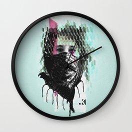 RIOT girl Wall Clock