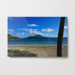 St. Kitts Beach Metal Print