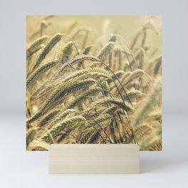 Waving Wheat Mini Art Print
