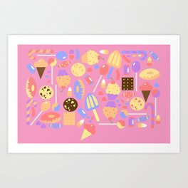 Sweet Escape Art Print