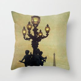 Paris (France) Throw Pillow