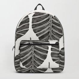 Elephant Ear Alocasia – Black Palette Backpack