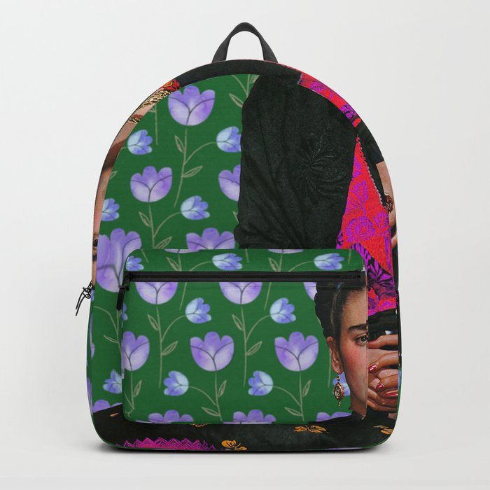Flowers Frida Kahlo I Backpack