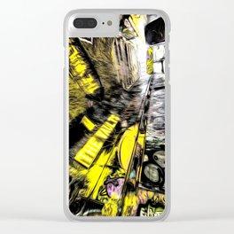 London Graffiti Art Clear iPhone Case