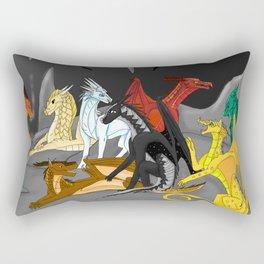 Dragon Wings Of Fire Rectangular Pillow