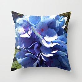 Hydrangea Puff Throw Pillow