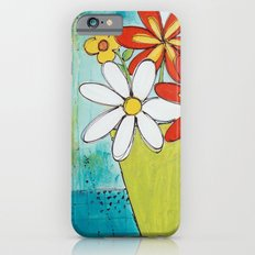 Spring Flowers Slim Case iPhone 6s