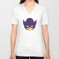 clint barton V-neck T-shirts featuring Clint Barton by Oblivion Creative