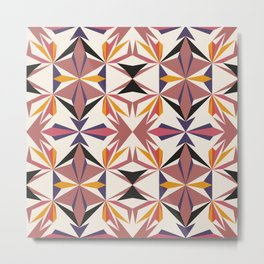 Seamless colourful pattern geometric backgrounds Metal Print