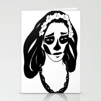 gothic Stationery Cards featuring Gothic by Shauny P.