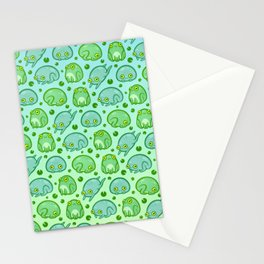 Friendly Frogs Stationery Cards