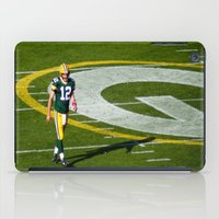 nfl iPad Cases featuring NFL MVP Aaron Rodgers by David Konieczko