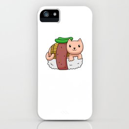 Kawaii Sushi Japanese Lolita Anime iPhone Case
