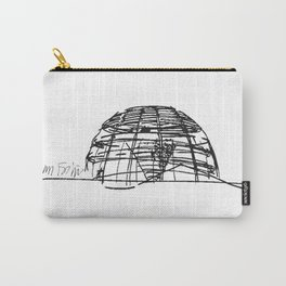 Reichstag Dome, Foster + Partners Carry-All Pouch
