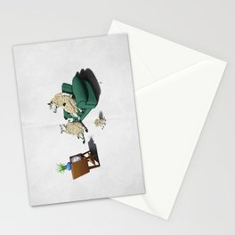 Sheep (Wordless) Stationery Cards