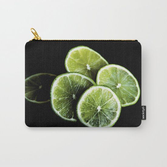 lemon lima Carry-All Pouch