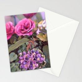 MISTY PETALS Stationery Cards