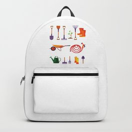 Garden Tools Gardener Gardening Plants Gift Backpack