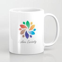 Explore Curiosity Mandala Coffee Mug