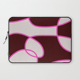 Asbtract Graphic Design Scarlet Laptop Sleeve