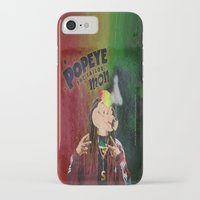 popeye iPhone & iPod Cases featuring POPEYE THE SAILOR MON - 018 by Lazy Bones Studios