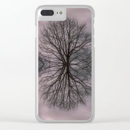 Oak tree before the storm #2 Clear iPhone Case
