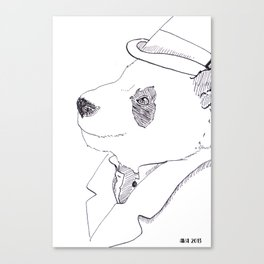Mr. Bombadere Canvas Print
