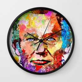 Abraham Lincoln Portrait Wall Clock